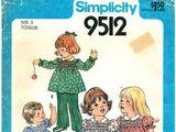 Simplicity 9512 A
