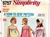 Simplicity 6757