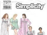 Simplicity 9929 A