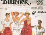 Butterick 5387
