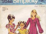Simplicity 9848