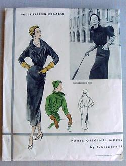 Vogue Schiaparelli 1231