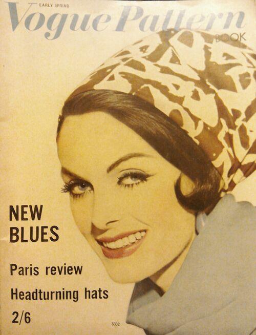 Vogue pattern feb march 62