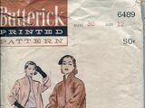 Butterick 6489 A