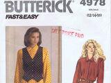 Butterick 4978 A