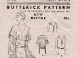 Butterick 3758 A