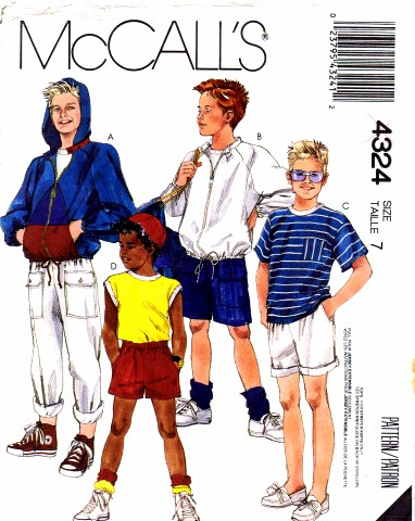 McCalls 1987 4324