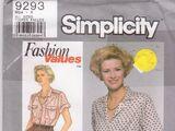 Simplicity 9293