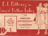 E. I. Patterns Bound Buttonholes