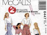 McCall's 6447 B