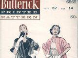 Butterick 6565 A