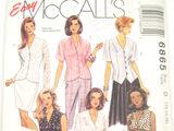 McCall's 6865 B