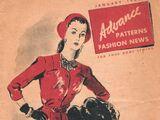 Advance Fashion News January 1944
