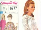 Simplicity 6777 A