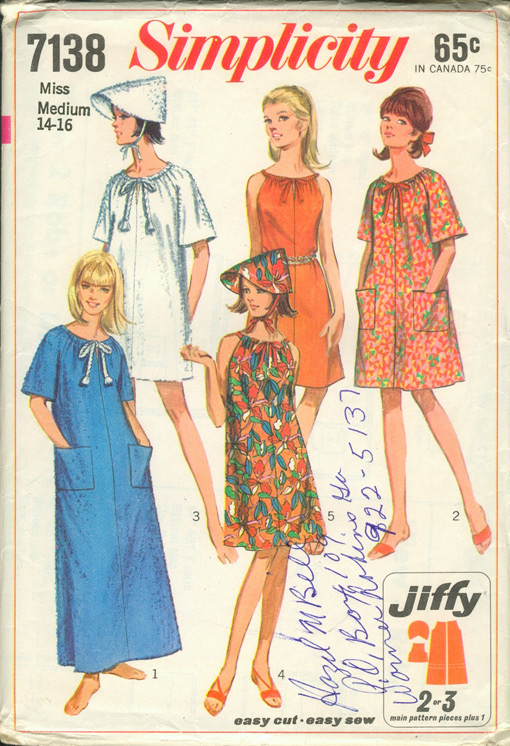 Simplicity 7138 | Vintage Sewing Patterns | FANDOM powered by Wikia