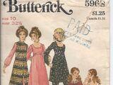 Butterick 5968 A