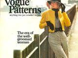 Vogue Patterns October/November 1972