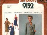 Simplicity 9132