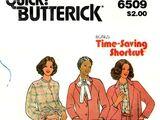 Butterick 6509 A