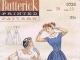 Butterick 5725 A