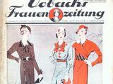 Vobachs Frauenzeitung No. 8 Vol. 36 1933
