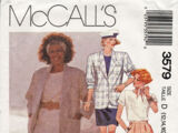 McCall's 3579 A