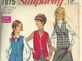Simplicity 7875 A