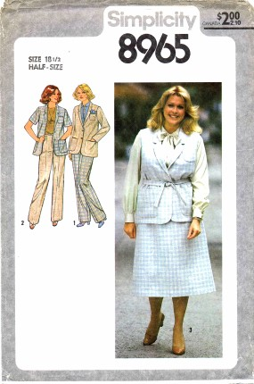 Simplicity 8965 A Vintage Sewing Patterns Fandom Powered By Wikia
