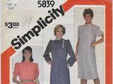 Simplicity 5839 A