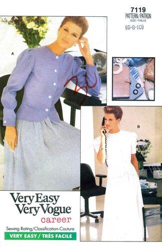 Vogue 1988 7119 F