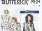 Butterick 5904 B