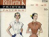 Butterick 5736