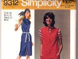 Simplicity 9312