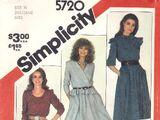 Simplicity 5720 A