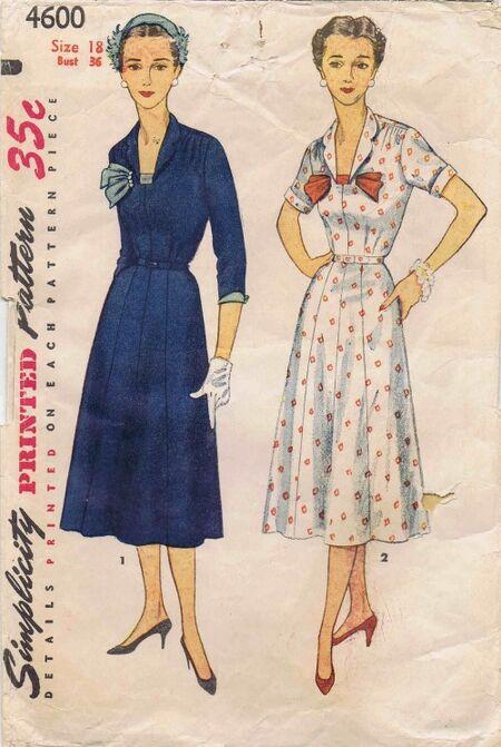 Simplicity 1954 4600