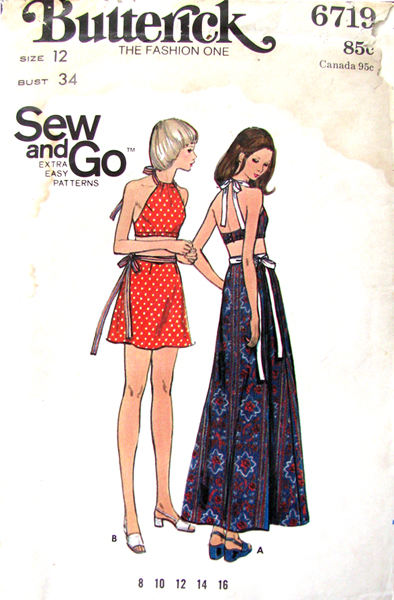 Butterick 6719 A | Vintage Sewing Patterns | FANDOM powered by Wikia