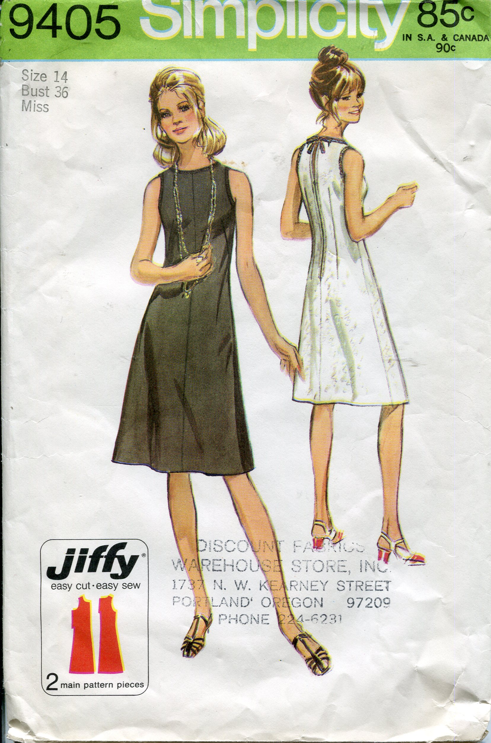 Simplicity 9405 | Vintage Sewing Patterns | FANDOM powered by Wikia