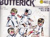 Butterick 403
