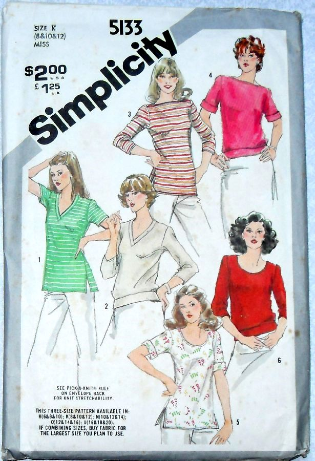 Simplicity 5133 A Vintage Sewing Patterns Fandom Powered By Wikia