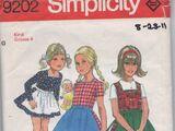 Simplicity 9202 A
