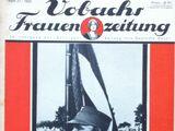 Vobachs Frauenzeitung No. 37 Vol. 36 1933
