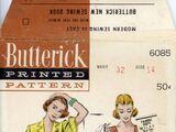 Butterick 6085 B