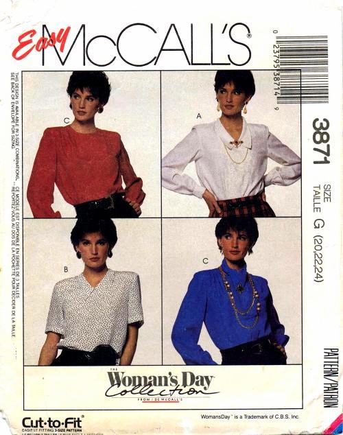 McCalls 1988 3871