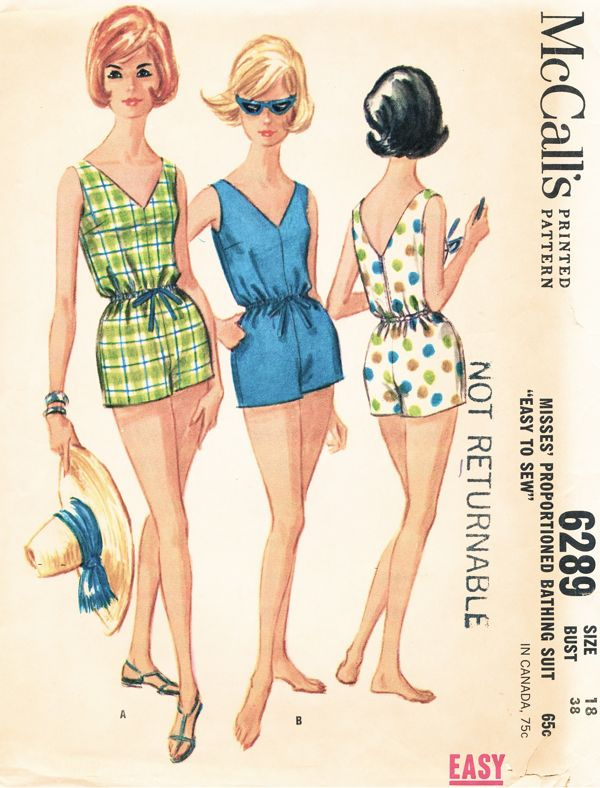 McCall\'s 6289 | Vintage Sewing Patterns | FANDOM powered by Wikia