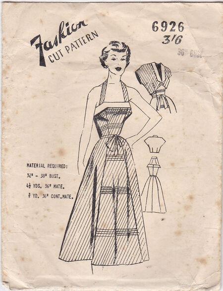 Pattern - Fashion Cut 6926 02