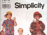 Simplicity 7414 A