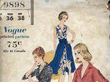 Vogue 9898 A