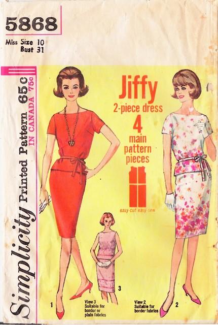 1960's Simplicity 5868