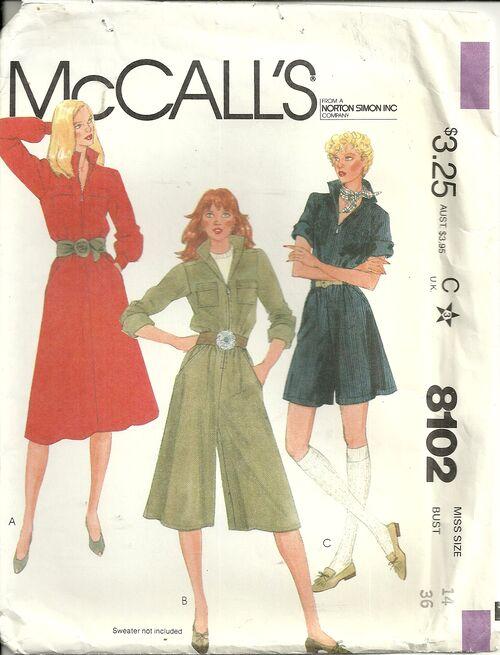 McCalls 8102