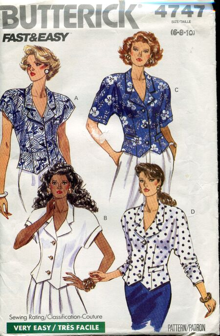 Butterick4747tops